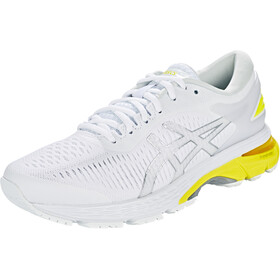 asics Gel-Kayano 25 Buty do biegania Kobiety, white/lemon spark